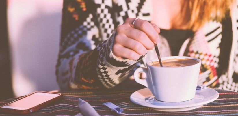 Coffee First Date if you're nervous shy anxious about dating