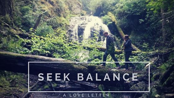 Why you should seek balance when you're anxious about love